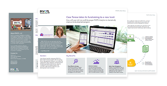 Casa Teresa Donor Analytics Non Profit Case Study